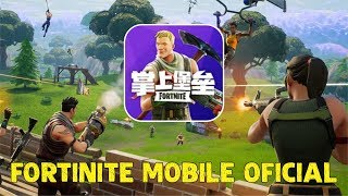 OFFICIAL FORTNITE MOBILE APPEARS ON THE WEBSITE OF TENCENT GAMING BUTTON FOR ANDROID AND IOS
