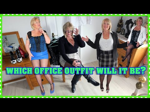 Choosing My Back To Work Secretary Office Outfit