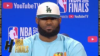 LeBron James Full Interview - Game 2 Preview | Lakers vs Heat | 2020 NBA Finals