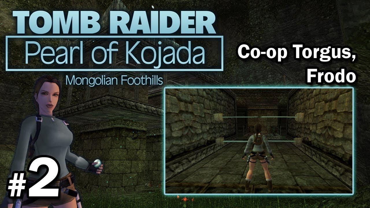 """[TRLE] Pearl of Kojada – Co-Op Torgus/Frodo – LvL1 [2/4] – """"Fobie Torgusa i szybka"""""""