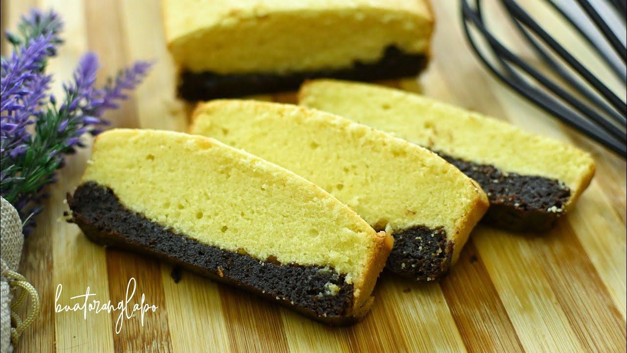 Brownies Buttercake (Kombinasi Yang Mantap)