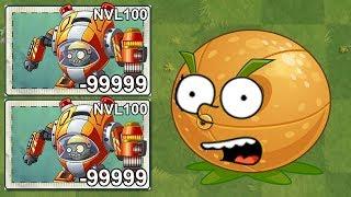 Plants Vs Zombies 2 Zombie Z-Mech Nivel 100