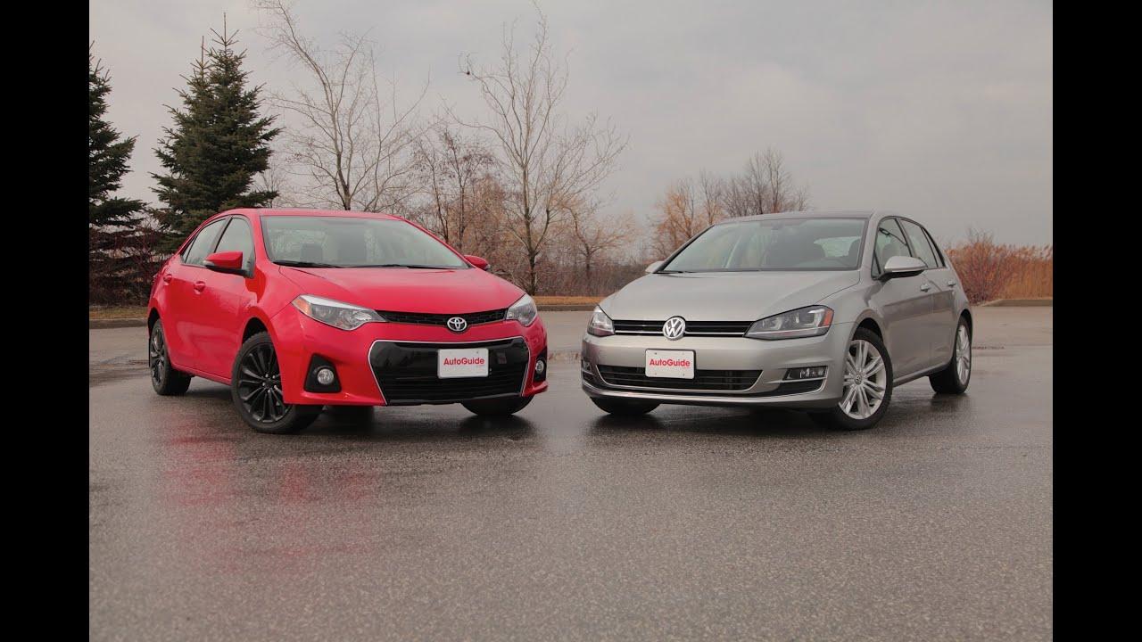 2015 Toyota Corolla vs 2015 Volkswagen Golf