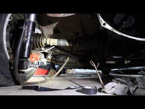 Турбо Запорожец, изготовление ШРУСов и установка новой коробки передач
