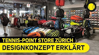 Neues Store Designkonzept erklärt | Impressionen & Eindrücke | Tennis-Point