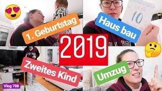 2019 ♡ Umzug ins Haus, Wann zweites Kind, 1.Geburtstag, Kosten fürs Haus l Labervlog 708