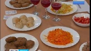 Еду для школ и детских садов дегустировали чиновники в Иркутске, «Вести-Иркутск»