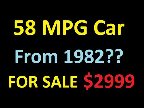 58 MPG Car ~ High Fuel Economy SAVE MONEY ~ GREEN CARS ~ FOR SALE $2999