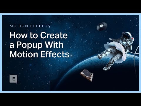 How to Create a Popup With a Mouse Track Effect in Elementor