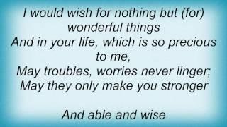 Alphaville - Those Wonderful Things Lyrics