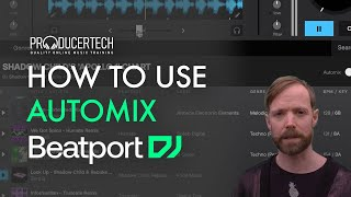 Automix in the Beatport DJ Web App - Module 1_2 from the Beginner's Guide