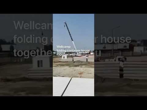 WELLCAMP Folding Container House Hospital fighting Corona Virus (NCP)