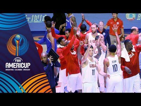 Dominican Republic v USA - Highlights - Group C - FIBA AmeriCup 2017