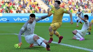 World Cup 2018 - Australia vs Peru - Group C Full Match Sim (FIFA 18)