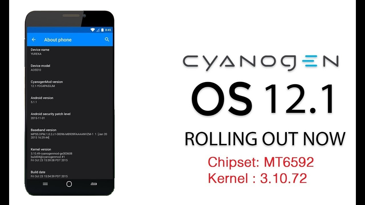 [MT6592] Stable COS CM 12 1 Custom ROM Kernel 3 10 72