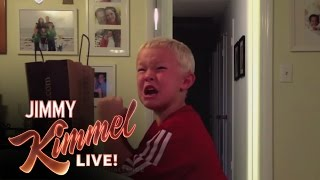 YouTube Challenge - I Told My Kids I Ate All Their Halloween Candy 2013(Once again we asked parents to pull a massive prank on their kids and pretend they ate all of their Halloween candy. Here are the results of this year's ..., 2013-11-05T04:58:49.000Z)