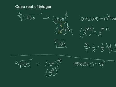 #3 Q3 W4 Cube root of an integer