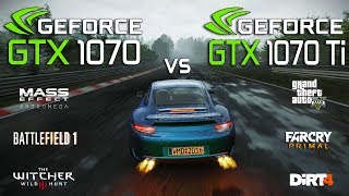 GTX 1070 Ti vs GTX 1070 Test in 7 Games