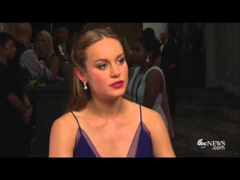 Brie Larson Talks Oscar Win