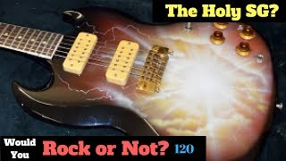 """What Do You See? The Holy SG!   """"1960s"""" """"Gibson"""" SG / Les Paul Special Refinish   WYRON 120"""
