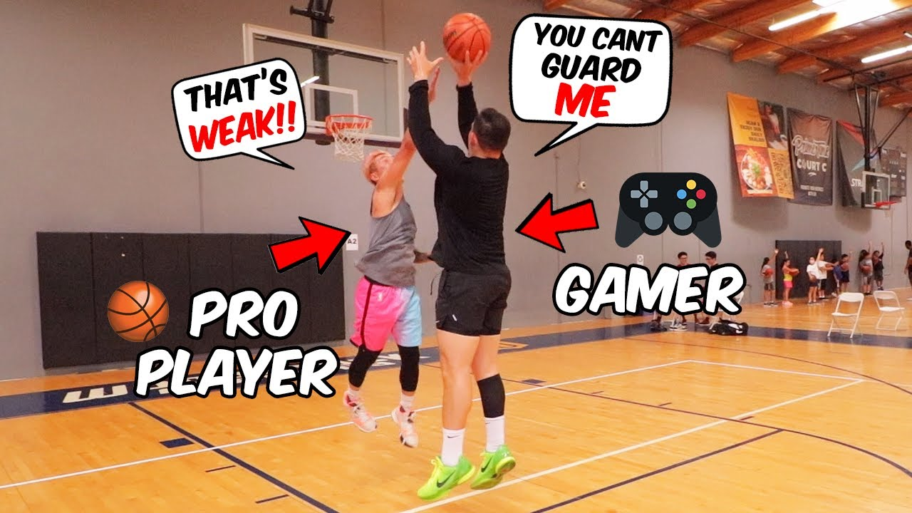 I Called Out A Pro Basketball Player To Play Me 1v1 And It Got Ugly..