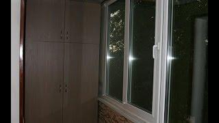 Встроенные шкафы для 6 метровой лоджии под заказ(, 2013-11-21T02:32:35.000Z)