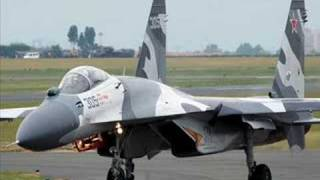 ロシア軍機 Военно-воздушные силы