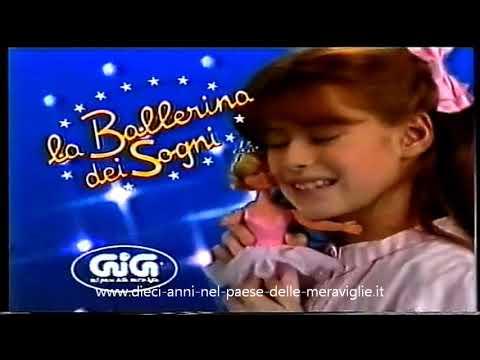 Pubblicità Spot TV Ballerina dei Sogni Linea GIG Dieci Anni Nel Paese Delle Meraviglie 1985