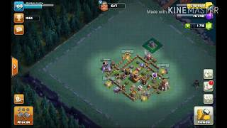 Base defensiva taller nivel 4 #6 clash of clans