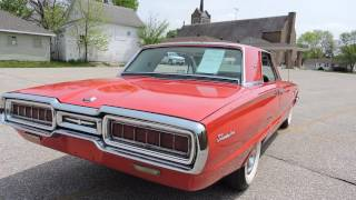 1965 ford red thunderbird for sale at www coyoteclassics com