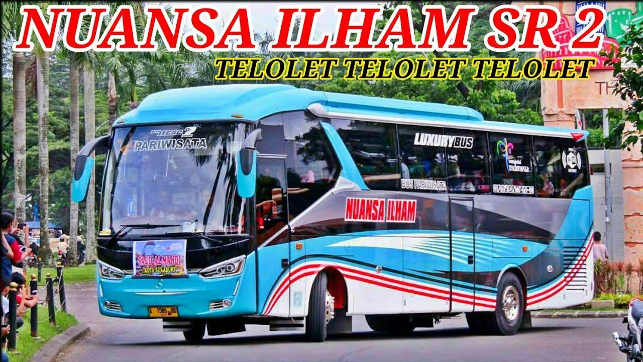 Wooow!! Teloletnya SR8 Bus Nuansa Ilham_Keren!! Ada juga Bus Tomy