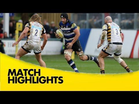 Bath Rugby V Wasps - Aviva Premiership Rugby 2016-17