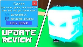 7 NEW WORKING BOOST CODES | BUBBLE GUM SIMULATOR UPDATE 16 REVIEW | ROBLOX