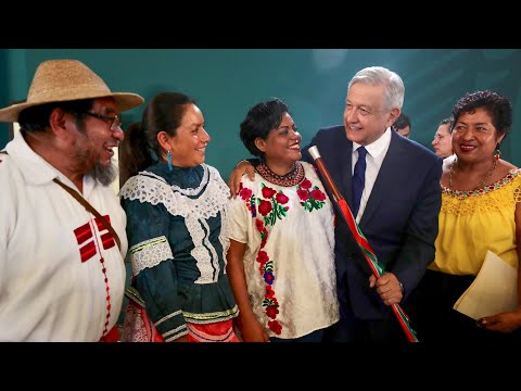 Baja incidencia delictiva en Durango. Día Internacional de los Pueblos Indígenas. Conferencia AMLO