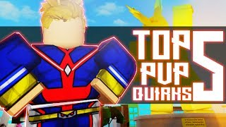 Top 5 Best PvP Quirks in Boku No Roblox | Noclypso