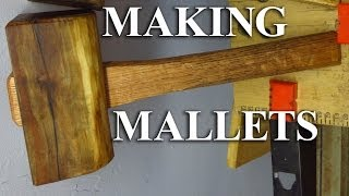 Making Joiner's Mallets From Firewood