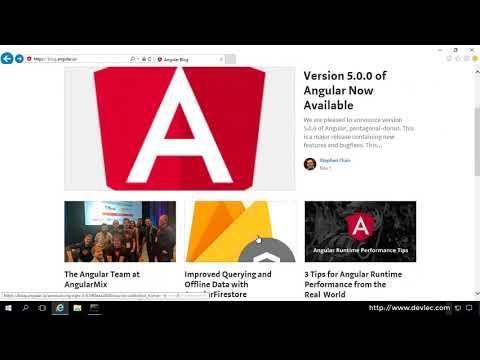 Angular 5 시작하기: 앵귤러 5 개발 환경 구축 및 Hello World 출력하기