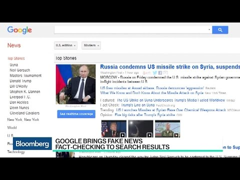 Google Brings Fake News Fact-Checking to News Searches