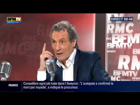 Michel Cymes face à Jean-Jacques Bourdin en direct