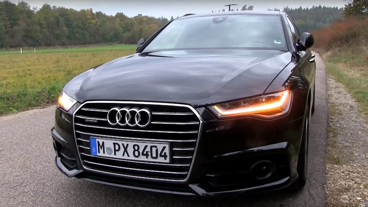 2016 audi a6 avant 3 0 bitdi 320 hp short test drive youtube. Black Bedroom Furniture Sets. Home Design Ideas