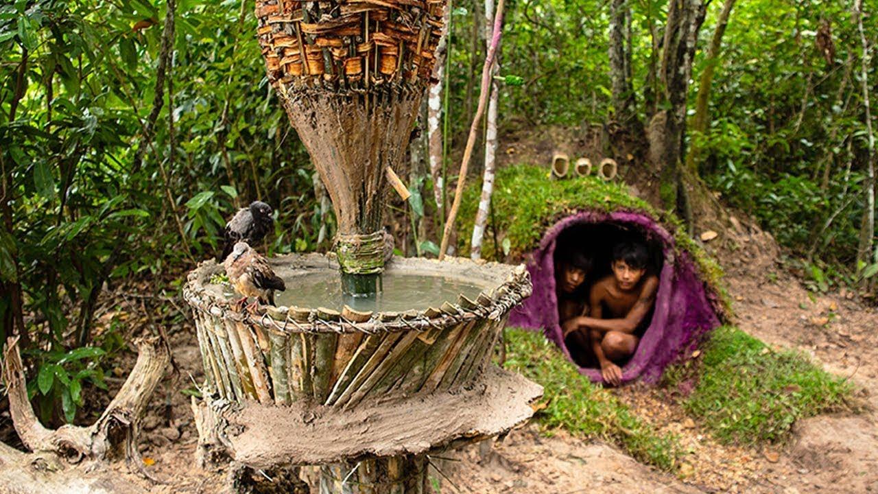 Bird Bath Fountain - Automatic water purifier for Bird