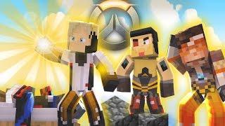 """Minecraft OVERWATCH UPRISING! """"Torbjorn!"""" (Minecraft Bed Wars Roleplay)"""