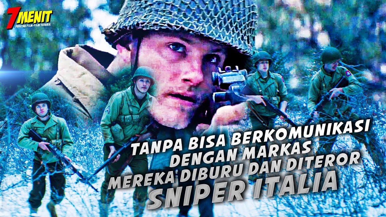 KISAH NYATA!! Dihutan TANPA Komunikasi, 4 Tentara AMERIKA diburu SNIPER  - Alur Cerita P3RANG N4Z!