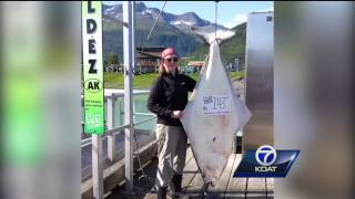 Local Angler Catches Massive Halibut
