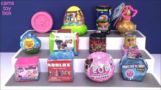 Unboxing Surprise Toys LOL EYE SPY MLP Shopkins Roblox LIL Sisters 4 Incredibles 2 Toy Fun Kids