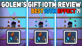 GOLEM'S GIFT AUGUST IOTM REVIEW (BEST IOTM EFFECT?!) - Growtopia
