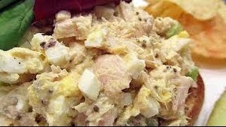 Tuna and Egg Salad  EASY TO LEARN  QUICK RECIPES