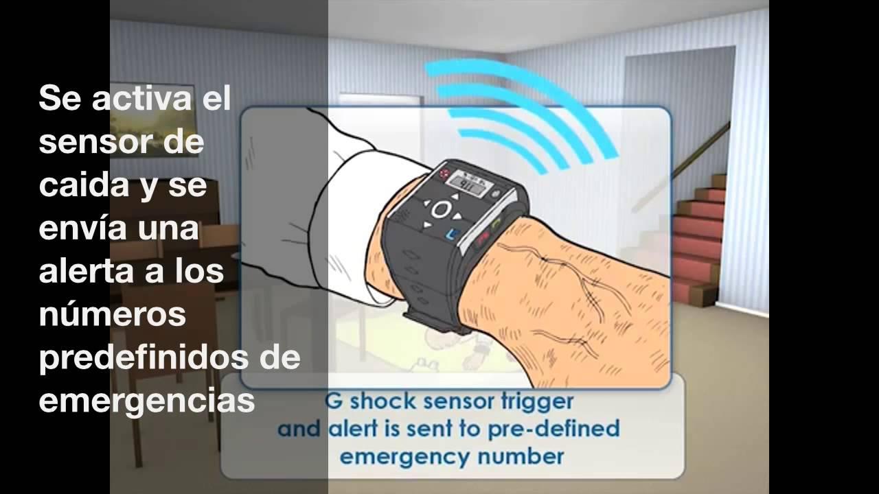 Reloj localizador GPS - para personas mayores, con demencia ...