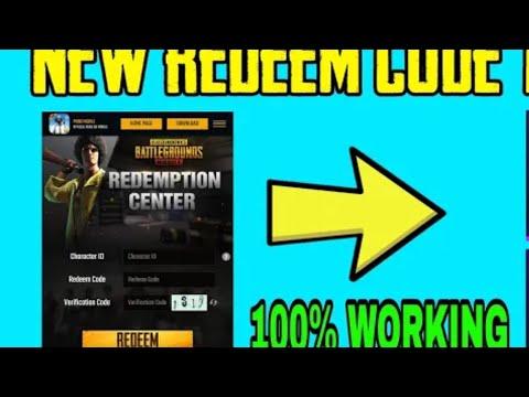 #18 New Redeem Code Get Free Gun Skin in Pubg Mobile | New ...