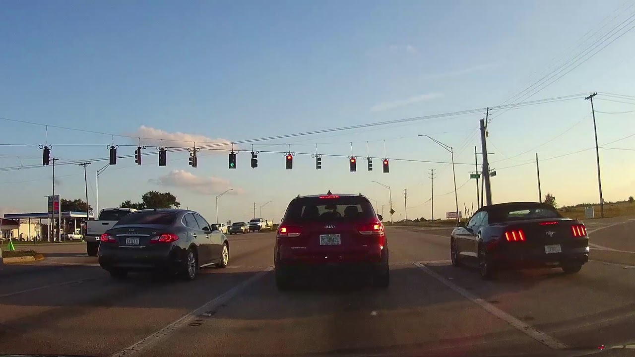 Driving from Sebring to Lake Placid Florida - YouTube